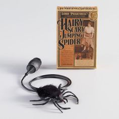 Hairy Scary Jumping Spider Prank Toy