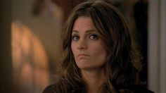 One of my favorite things about Stana Katic is that she sometimes makes this face.