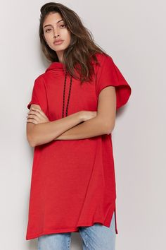 Forever 21 is the authority on fashion & the go-to retailer for the latest trends, styles & the hottest deals. Shop dresses, tops, tees, leggings & more! Shop Forever, Forever 21, Fashion Beauty, Beauty Style, Latest Trends, Tunic Tops, Pullover, Best Deals, Tees