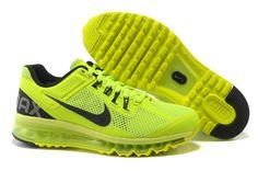 buy popular 09a68 d4b08 Mens Nike Air Max 2013 Volt Black Shoes Nike Air Max For Women, Mens Nike