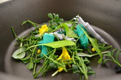Chefs creating a dish with Play Doh & #freshproduce = little waste!  via WestlandsWow