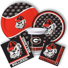 Georgia Bulldogs Party Supplies from www.DiscountPartySupplies.com