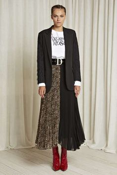 Denny Rose, Casual Chic, Dress Skirt, What To Wear, Valentino, Fall Winter, Tulle, Elegant, Street