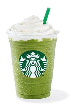 We rounded up every single Starbucks Frappuccino to date, and learned some history of the blended coffee drink in the process. Green Tea Frappucino Starbucks, Starbucks Whipped Cream, Starbucks Strawberry, Secret Starbucks Drinks, Starbucks Recipes, Starbucks Coffee, Copo Starbucks, Bebidas Do Starbucks, Strawberries And Cream Frappuccino Recipe