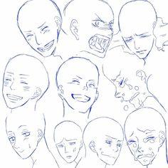 Уроки - Как рисовать эмоции | 156 фотографий