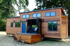 The 280 sq ft Luxurious tiny house from Tiny Heirloom.