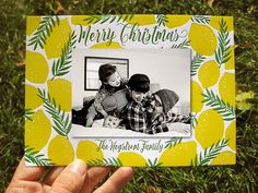 ColorQuarry Letterpress /// the perfect custom letterpress holiday photo card