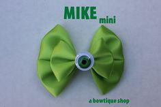 mike mini hair bow by abowtiqueshop on Etsy, $3.50