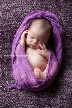 Grape Purple Cheesecloth Baby Wrap Photo Prop(COMeS With ViDEoS FoR SWaddLiNG and HanGinG SliNg) For Portrait Sessions, 3 ft x 6 ft. $13.49, via Etsy.
