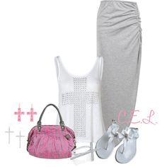 Untitled #373 by sweetlikecandycane on Polyvore featuring Vero Moda, Lollipops, Crislu and Tarina Tarantino
