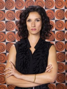 Indira Varma, voice of the lovely Vivienne in Dragon Age: Inquisition. I saw her first as Suzie in Torchwood.