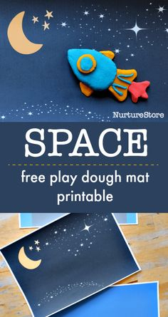 space play dough printables, space play mat, space sensory activity Space Theme Preschool, Space Activities For Kids, Toddler Activities, Space Theme For Toddlers, Planets Activities, Playdough Activities, Preschool Printables, Space Printables, Space Crafts