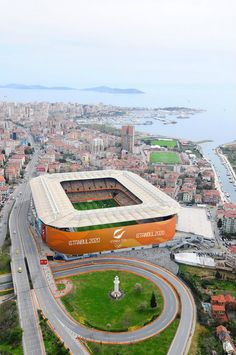 Soccer Stadium, Football Stadiums, Stadium Architecture, Architecture Design, Football Is Life, Football Team, Fifa, 2020 Olympics, E Sport