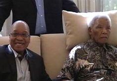 """8-Jun-2013 9:49 - MANDELA ZIEKENHUIS IN. Nelson Mandela ligt weer eens in het ziekenhuis. De reden is opnieuw een longinfectie, zo meldt de Zuid-Afrikaanse regering. De anti-apartheidsvoorvechter, die inmiddels 94 lentes telt, werd sinds december vorig jaar al vier keer opgenomen. De toestand van Mandela, die afgelopen nacht naar een ziekenhuis in Pretoria werd gebracht nadat zijn situatie verslechterde, is """"serieus, maar stabiel""""."""