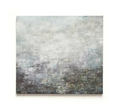 Falling Light, Glittering Mica by Gareth Edwards . oil and mixed media on canvas . 91 x 100 cm