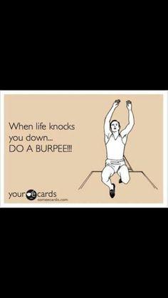 Burpees!