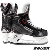 Bauer's Vapor APX2 skate adds the revolutionary Lightspeed Edge holder to the skate which allows for quick swapping of runners to make sure you are always skating with an edge. This holder also raises the holder up by 3mm to allow elite players to get a greater angle of attack when making tight corners.