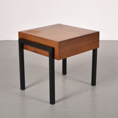 Located using retrostart.com > Side Table by Unknown Designer for Unknown Manufacturer
