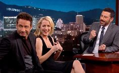 On Tuesday's Jimmy Kimmel Live!, Kimmel broke it to The X-Files' Mulder and Scully that it isn't the '90s anymore — but in the process of filming that sketch, David Duchovny and Gillian Anderson taught Kimmel the same lesson.