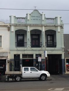 The Fighting Pub (Town Hall Hotel), Errol St, North Melbourne