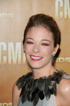 LeAnn Rimes sophisticated, updo hairstyle
