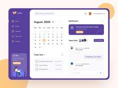 Project management tool dashboard by SLAB Design Studio Dashboard Interface, Web Dashboard, Dashboard Design, Ui Web, User Interface Design, Web Mobile, Mobile App Design, Task Manager, Form Design Web