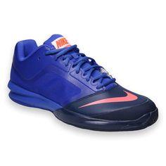 Nike Ballistec Advantage Mens Tennis Shoe, Violet, Navy, 685278584