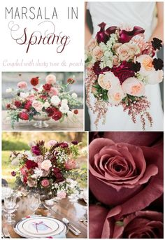 Pantone Color of the Year, Marsala | Spring Inspiration | Moore & Co. Event Stylists | www.mooreandcoeventsblog.com