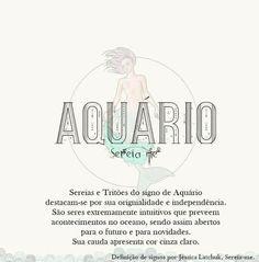 A Sereia de cada signo. Aquário. #mermaid