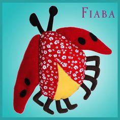"""Marienkäfer"" – Draw Your Cuddle | Fiaba"