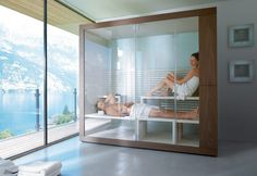 Inipi von Duravit - Saunen & Dampfbäder - Design bei STYLEPARK