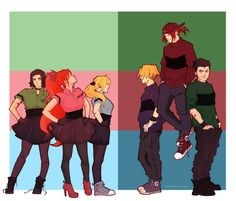 ppg x rrb by lilithkiss00 on DeviantArt