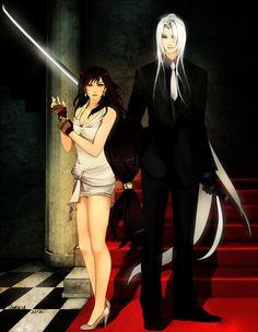 Sephiroth and Tifa by *arriku - Final Fantasy VII - Tifa / Sephiroth