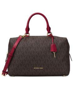 b9b64ace9bc MICHAEL Michael Kors Kirby Large Satchel & Reviews - Handbags & Accessories  - Macy's