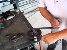 maqmex dobladora manual de caracoles de solera. - YouTube