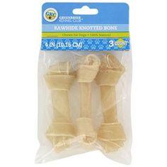 Greenbrier Kennel Club Rawhide Bones, 3-ct. Packs