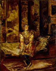 Nijinsky by Jacques-Emile Blanche (French 1861-1942)