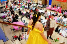 The Grove City High School Drama Department gave youngsters the royal treatment March 21 as it held its second Prince and Princess Tea event.