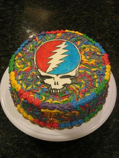 Not really for me- KS grateful Dead cake - Google Search