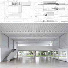 Salon de usos multiples en centro comunitario - BIAAR