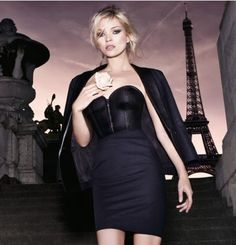 Kate Moss for Parisienne YSL