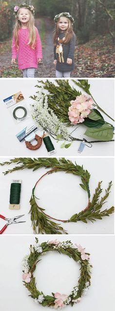 Whether you're looking for creative accessories for your flower girl or simply a creative way to celebrate spring, this project from Jo-Ann for DIY Flower Crowns is sure to do the trick!
