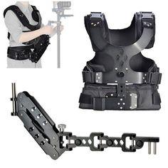 CowboyStudio Camera Shoulder Stabilizer Load Vest & Single Handle Arm for DSLR DV Camera CowboyStudio