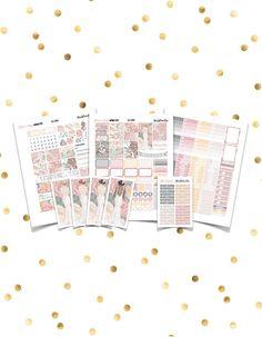 FOREVER & ALWAYS Weekly Kit // Printable Planner Stickers