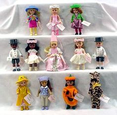 Madame Alexander Happy Meal Set - 2003 - Happy Toy Depot