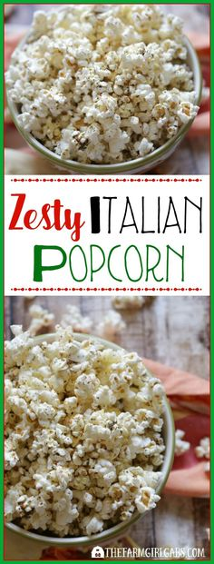 This Zesty Italian Popcorn Recipe will add some zip to your next party. This easy snack is healthy too! #WWFoodsAtShopRite #Ad #PMedia