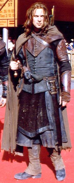Character Name: Syon of Aldesgate, a ranger. Real name: Syon Peters.