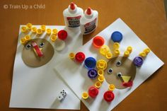 """Turkey Math"": Great preschool/ kindergarten activity for some hands-on practice with number concepts"