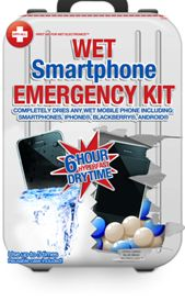 Wet Smartphone Emergency Kit – CPR for your iPhone?  I ordered one of these! $17.00.