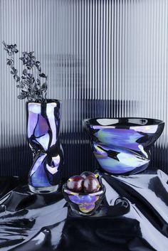 Warp Vase & Bowls